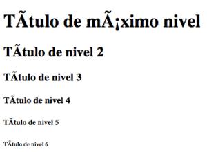 ejemplo headings html