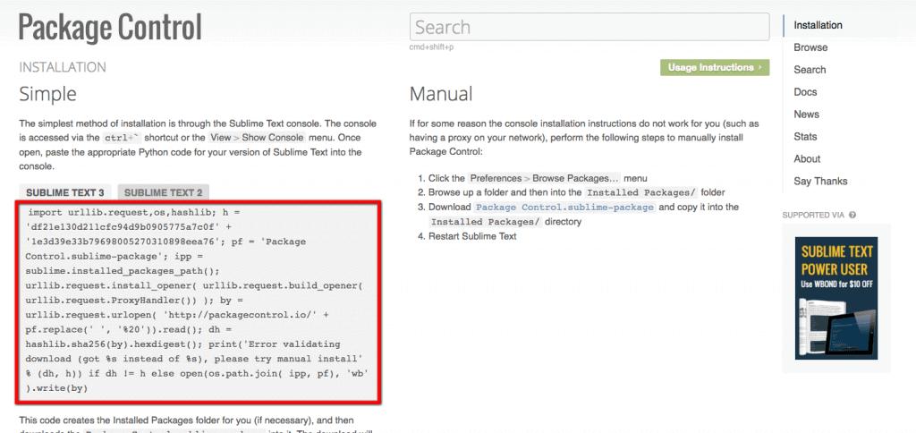 Edita sitios web WordPress ya publicados con Sublime Text