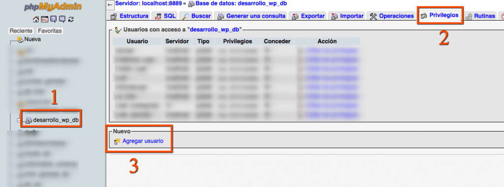 agregar usuario db