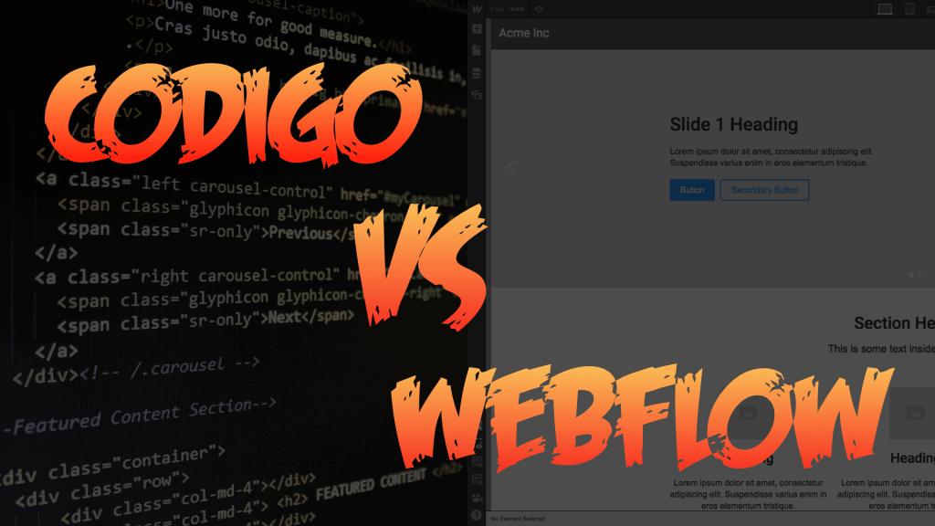 Desafío código versus Webflow, con Francisco Aguilera