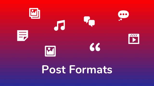 Uso de los Post Formats en WordPress